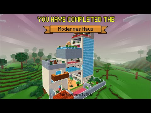 Block Craft 3D : Building Simulator Games For Free Gameplay#415 (iOS & Android) | Modern Home Build