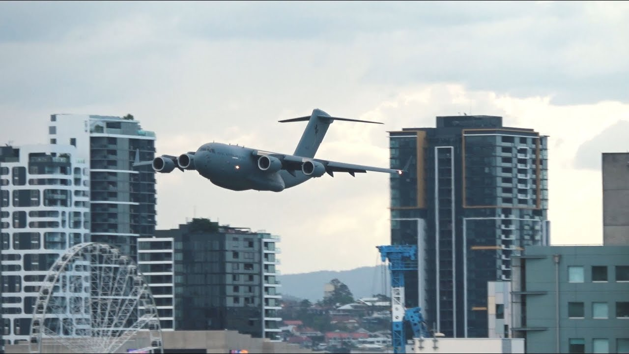 Taki tam przelot samolotem na zakończenie festiwalu w Brisbane