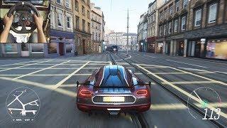 Koenigsegg Agera RS - Forza Horizon 4 | Logitech g29 gameplay