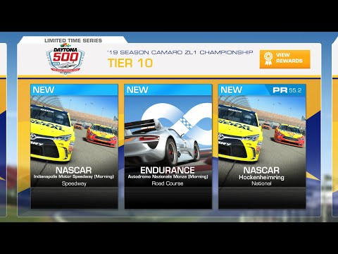 Real Racing 3 '19 Season Camaro ZL1 Championship Tier 10 (PR 55.2)
