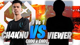 CHOU VS CHOU 1V1 w/ VIEWER GAME 1