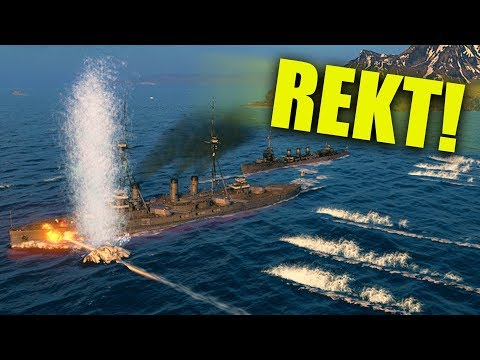 SINKING PEOPLE'S BATTLESHIPS! | World of Warships