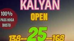 Sattamatka KALYAN BAZAR SINGALE OPEN DHAMAKA MONDAY 14 11 2016