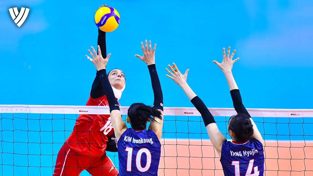 Women's POWERFUL Spikes | AVC Tokyo Volleyball Qualification 2020