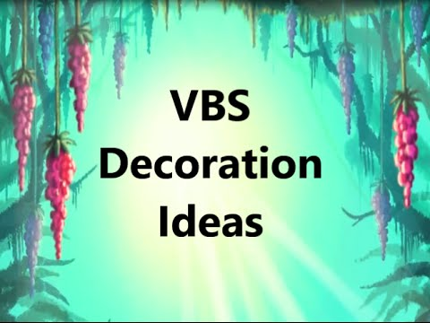 VBS 2015: Journey Off the Map Decoration Ideas - YouTube