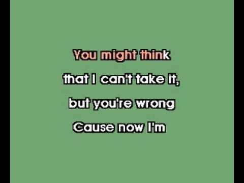 Karaoke - Britney Spears - Stronger