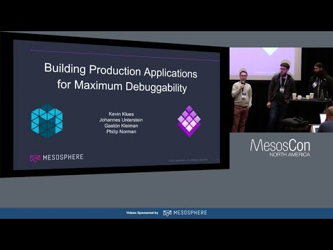 Deploying Data-Intensive Applications with Mesos, Marathon, and DC/OS (Speakers from Mesosphere)