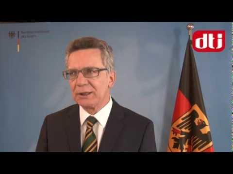 Interview mit Thomas de Maizière, Bundesminister des Innern