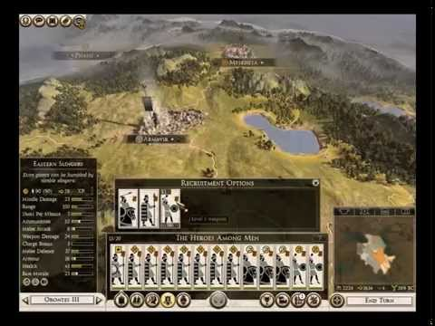 Rome 2: Armenia Campaign Part 1 Friends? Who needs those?
