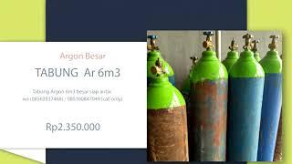 tabung oksigen 1m3 siap pakai