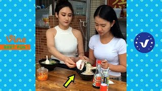Best Funny Videos 2018 ● Cute girls doing funny things P4