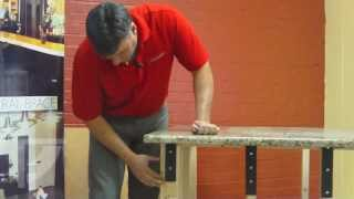 HOW-TO: Invisible Countertop Support w/ Freedom HIDDEN Brackets