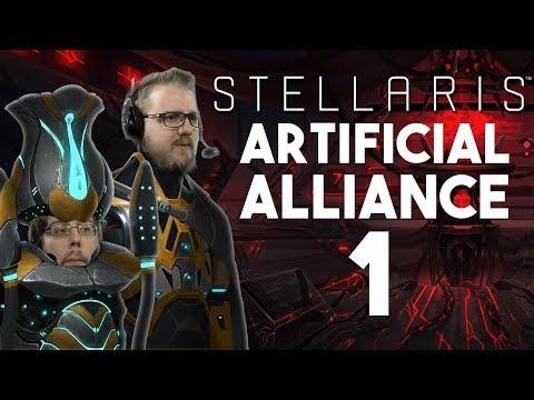 Artificial Alliance #1 - Stellaris: Synthetic Dawn