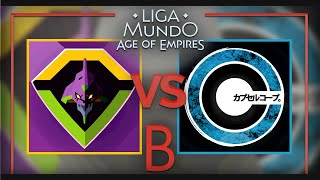 Liga Mundo AoE | The FoX Army vs Corp | Fecha 1
