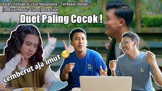 Rizky Febian & Ziva Magnolya - Terlukis Indah(Official Music Video) Reaction Duet paling cocok 2021!