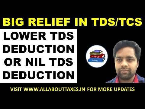 ORDER ISSUED IN CASE OF LOWER TDS DEDUCTION OR NIL TDS DEDUCTION AND LOWER OR NIL TCS COLLECTION   