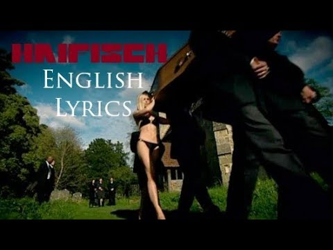 """RAMMSTEIN """"Haifisch"""" English Lyrics HD"""