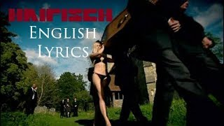"RAMMSTEIN ""Haifisch"" English Lyrics HD"