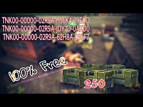 Tanki Online How To Get 250 Containers/Promocodes 100% Free