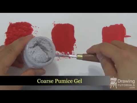 Acrylic Painting Medium, Gel & Molding Paste Review (Golden Artist Color)