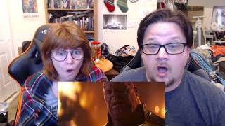 Infinity War - Official Trailer - REACTION!