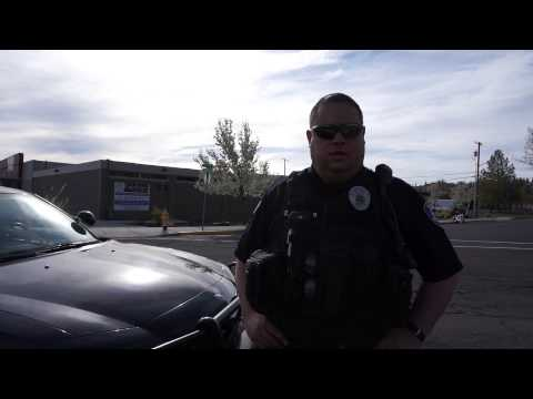 Open Carry in Klamath Falls Oregon, March 30, 2015.