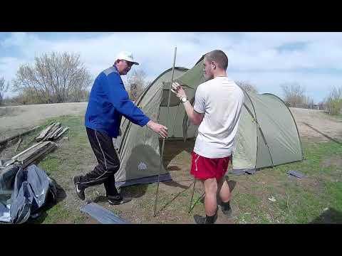 Кемпинговая палатка Trek planet Montana 4