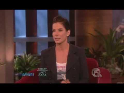 Sandra Bullock Interview On Ellen Show [Part 1]