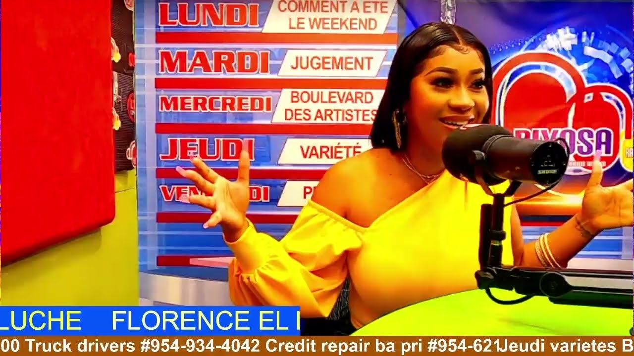 Download FLORENCE EL LUCHE LIVE AVEK NOUVEAU VIDEO (DEKONEKTE) SUR DIYOSA