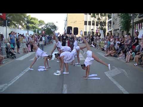CLUB GIMNASIA ANGELS. ENTRAETA INFANTIL MOROS Y CRISTIANOS TORRENT