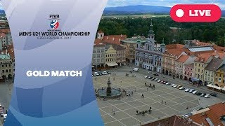 Gold Match - Men's U21 World Championship 2017 Czech Republic