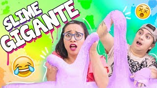 SLIME GIANT!!!  I PUT MY FACE ON * bad idea * with Mario Aguilar ✎ Craftingeek