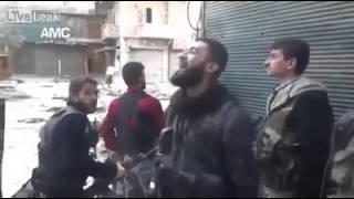 Penampakan malaikat di Syria?