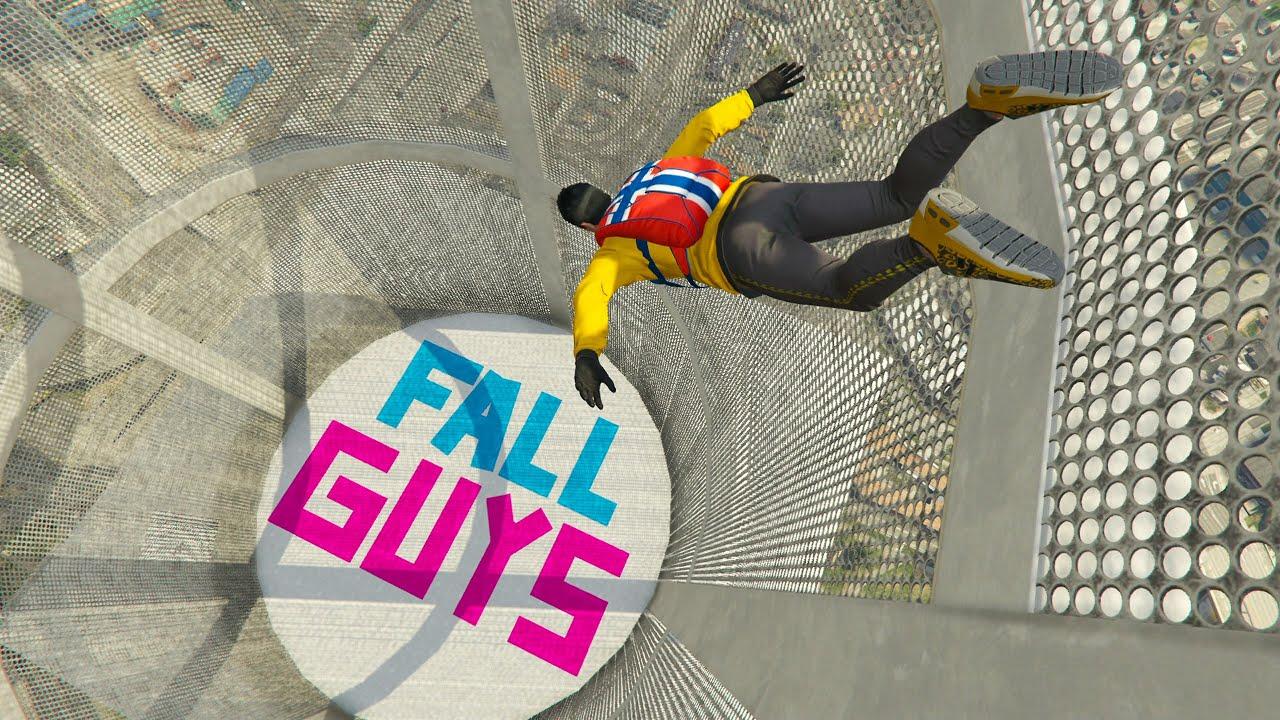 FALL GUYS EXTREMO EN GTA V ONLINE!