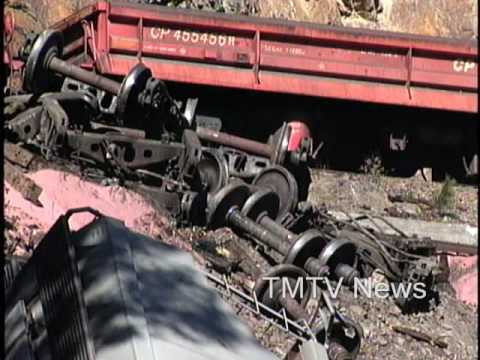 CPR Train Crash Yahk BC - TMTV News