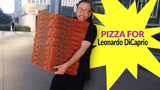WOW! Pizza for Leonardo DiCaprio! #2 Pawel to Leonardo! Good People need to unite!
