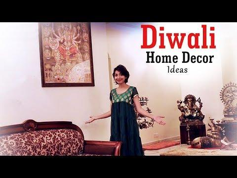 DIWALI Home Decor DIY    Indian Youtuber