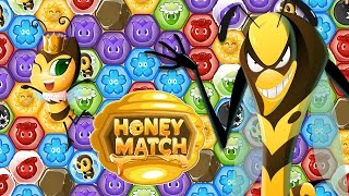 Honey Match - Game Trailer - NEW: The Wasp King Update