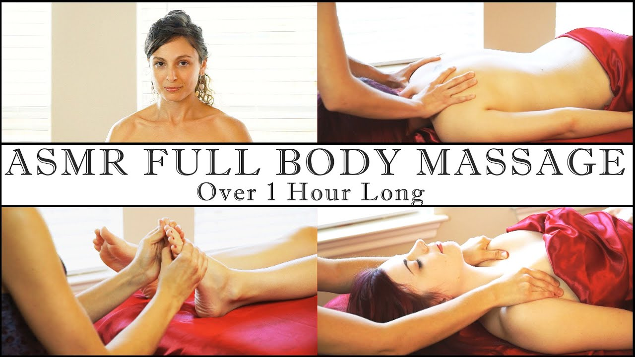1 Hour Full Body Asmr Massage, Relaxing Soft Spoken -2523