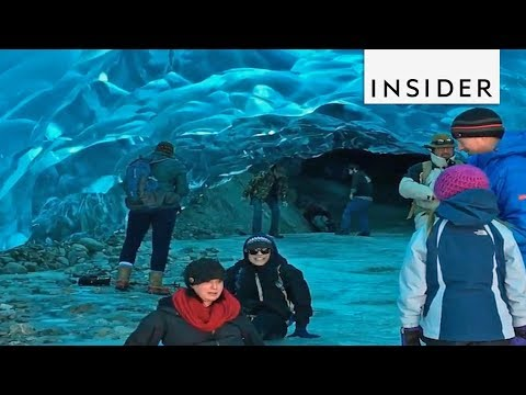 Inside Look at an Alaskan Ice Cave