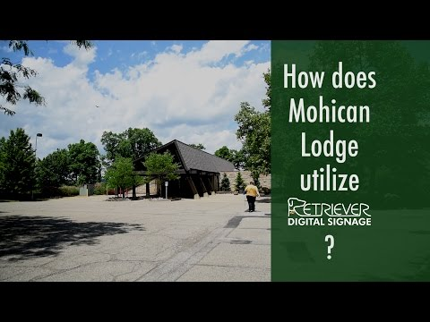 Digital Signage Case Study: Mohican Lodge