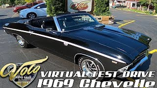 1969 Chevrolet Chevelle Virtual Test Drive at Volo Auto Museum (V18863)