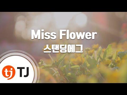 [TJ노래방] Miss Flower - 스탠딩에그 (Standing Egg) / TJ Karaoke