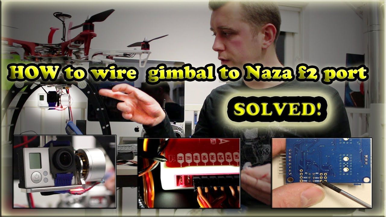 small resolution of how to wire goodluckbuy gimbal pitch control very easy youtube rh youtube com quadcopter wiring diagram quadcopter wiring diagram