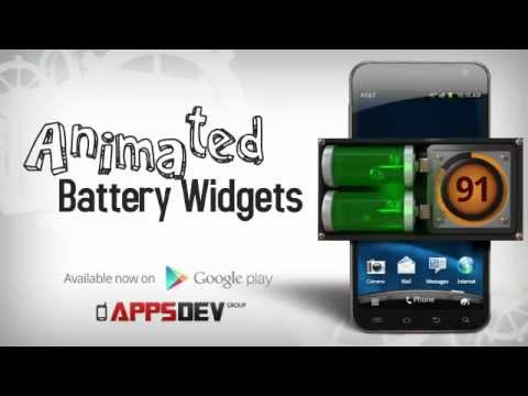 Animated Battery Widgets