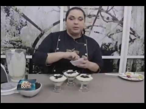 Culinária: Tacinha de limão com cookies de chocolate
