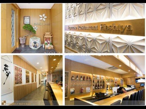 Thiết kế nhà hàng Nhật Bản Hashiya | Nội thất Miền Bắc