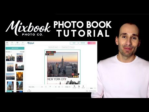 MIXBOOK TUTORIAL - PHOTO BOOK EDITOR