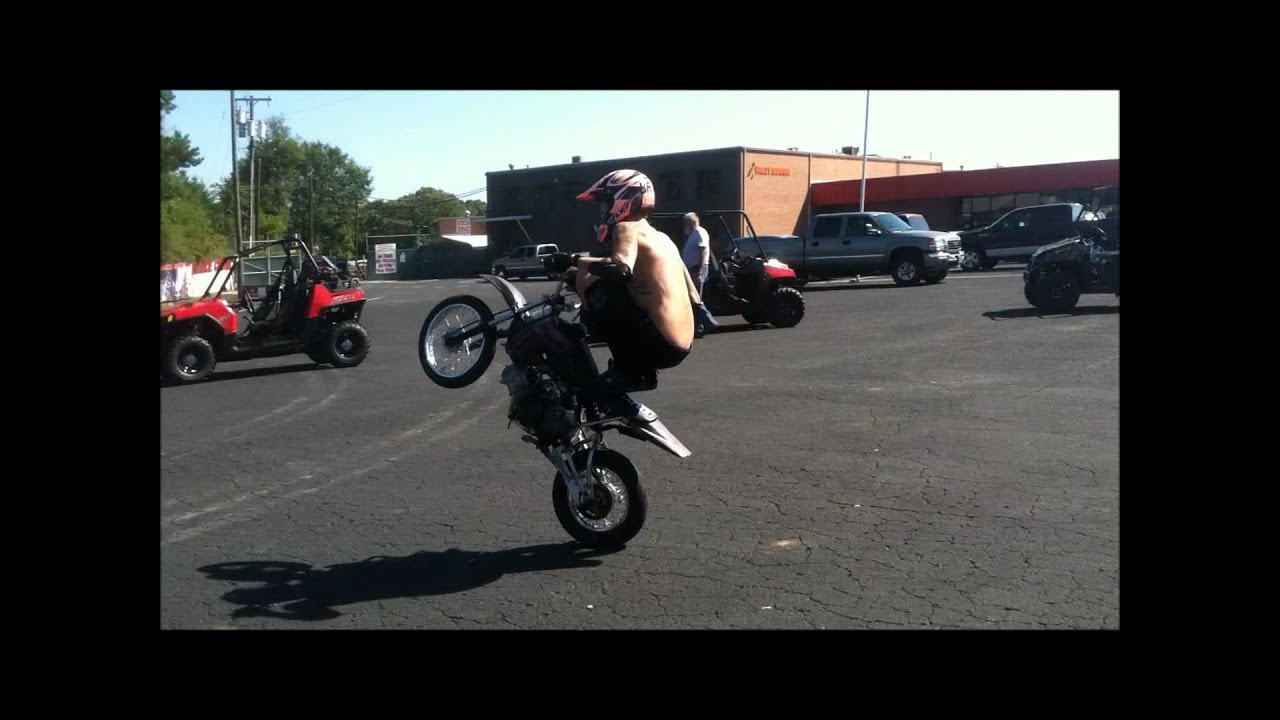 Engine Street Legal Klx 110 Wheelie