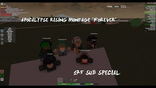 """[ROBLOX] Apocalypse Rising montage """"Forever"""" 175 Sub Special"""